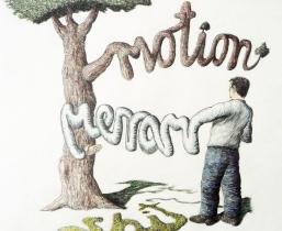 Motion Money Shit, 2011, Buntstift, 50x60cm