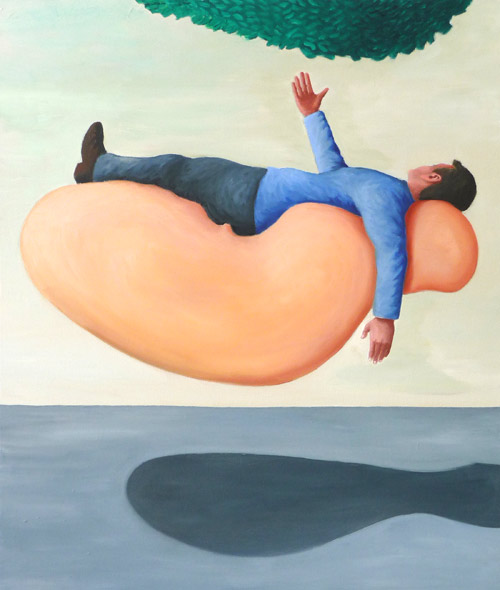 Giant Bubble, 2009, Öl/LW, 60x80 cm